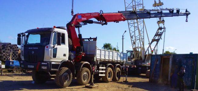 Манипуляторы грузоподъёмностью 20 тонн