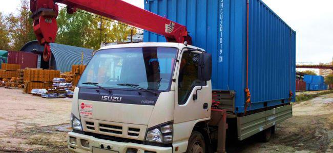 Автомобильные перевозки контейнеров и грузов