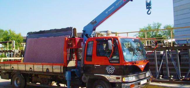 Услуги перевозки мрамора, водной техники, гаража-укрытия