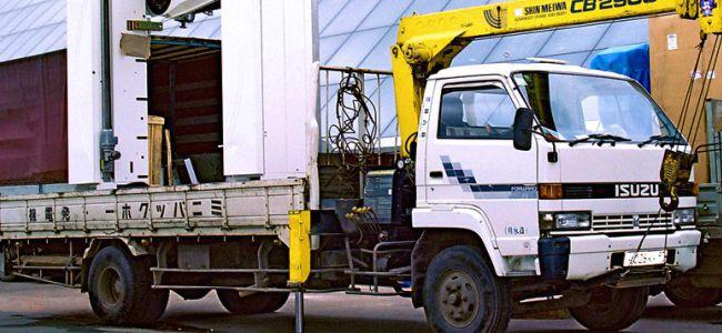 Перевозка (транспортировка) торгового оборудования